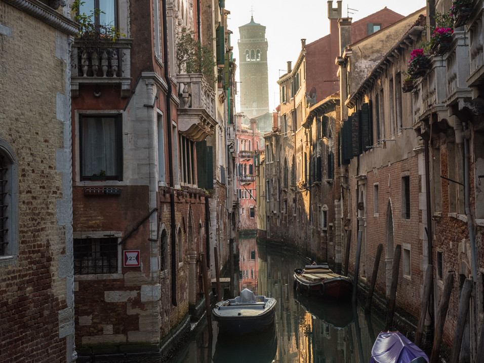 Looking towards the Leaning Tower