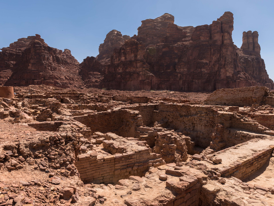 The ancient North Arabian Kingdom of Dadan, AlUla