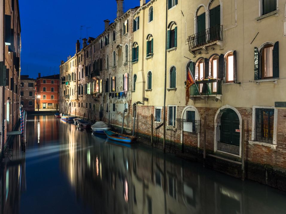 Still waters on a Venitian evening
