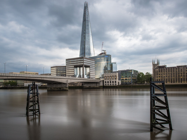 Smooth waters of the River Thames