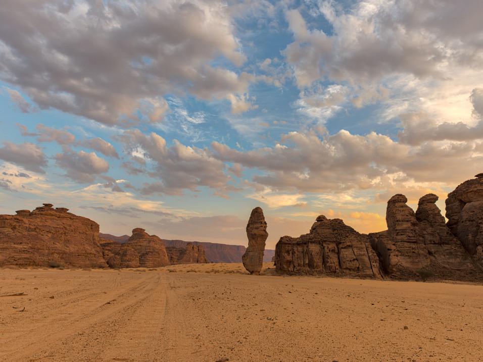 The Standing Lady, Wadi Al Fann