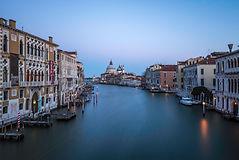 Venice sunrise from Ponte dell'Accademia