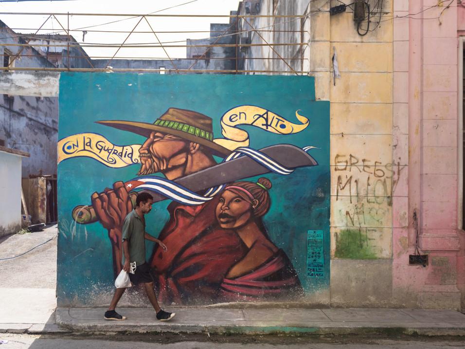 """Keep your guard high"", Havana"