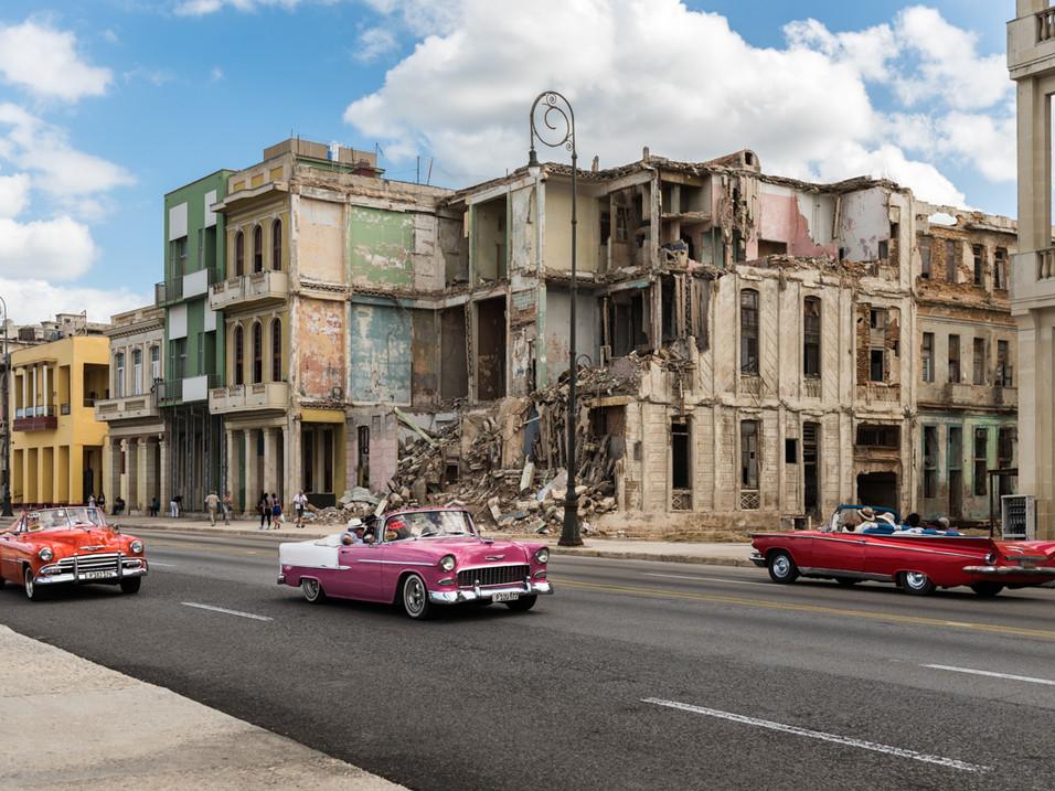 Colourful cars in Havana, Cuba