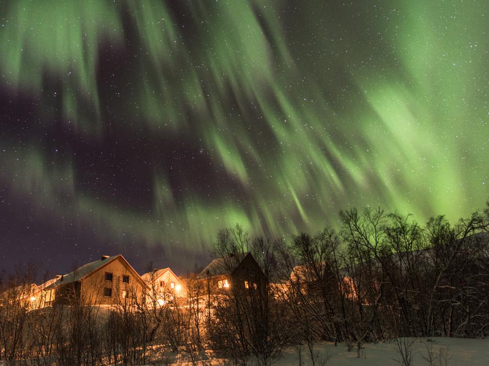 Aurora over Abisko, Swedish Lapland