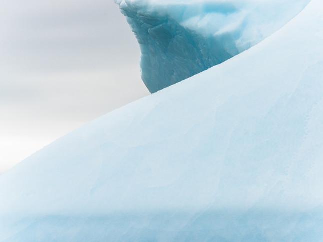 Iceberg contours, Antarctica