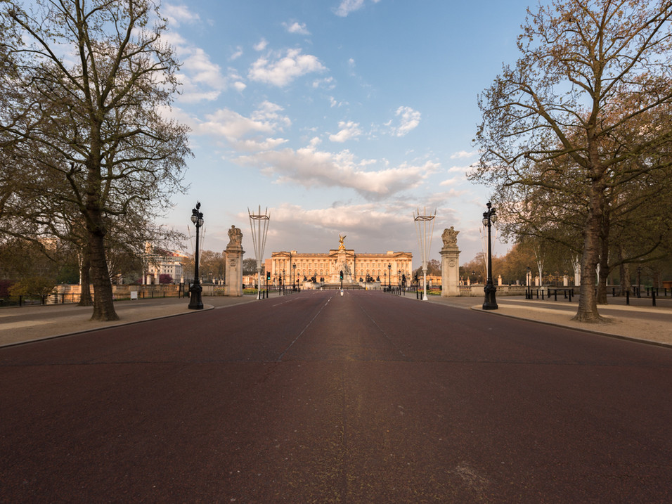 Buckingham Palace during the Lockdown