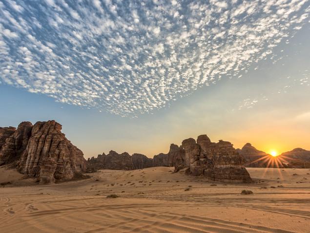 Clouds over Wadi Al Fann