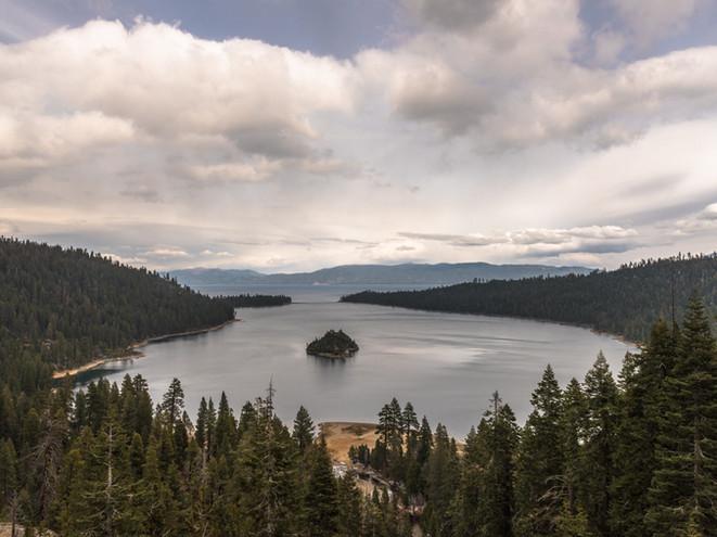 Lake Tahoe little island