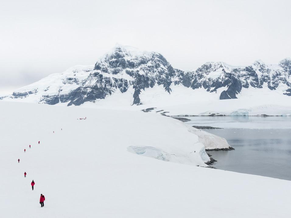 The long walk back to base, Antarctica