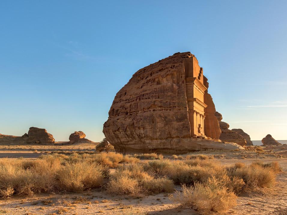Al Farid - The Lonely Castle - in Mada'in Salih
