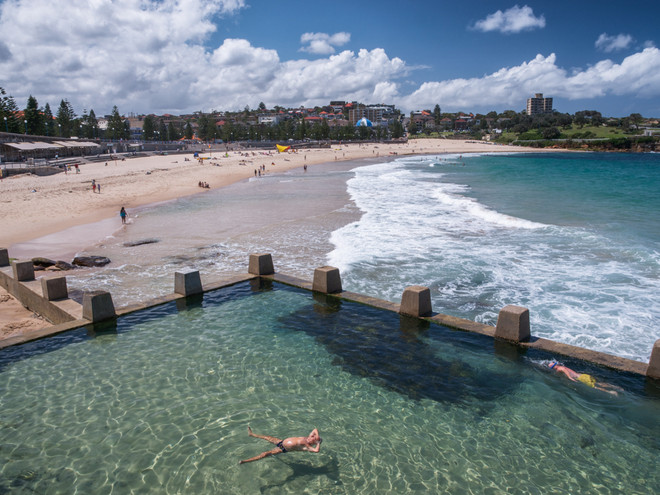 Swimmers of Coogee, Sydney