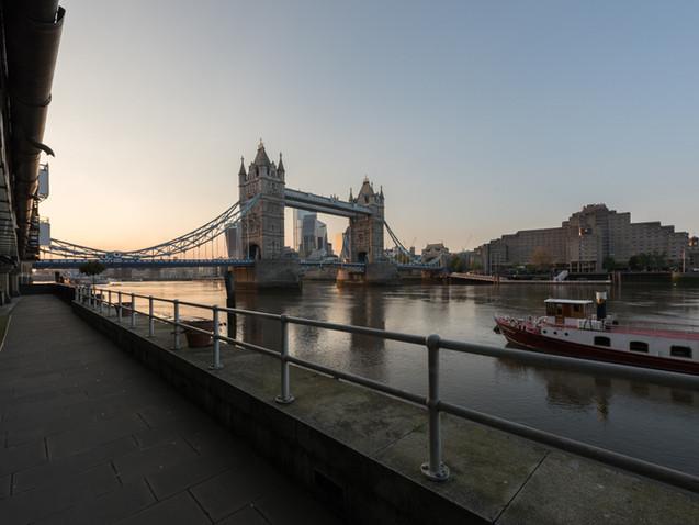 Tower Bridge in Lockdown