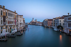 Venice sunrise from Ponte dell'Accademia