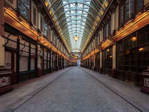 Leadenhall Market in Lockdown