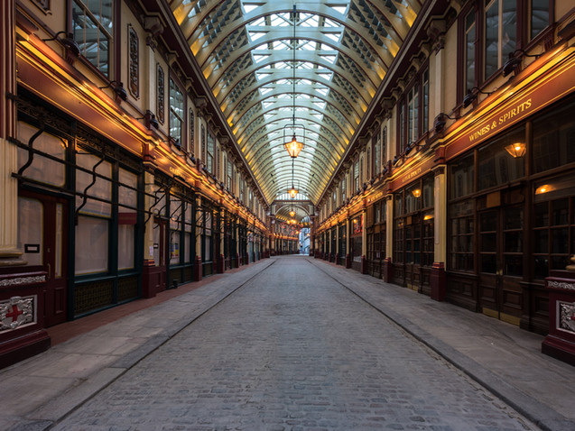 Leadenhall Market in Lockdown