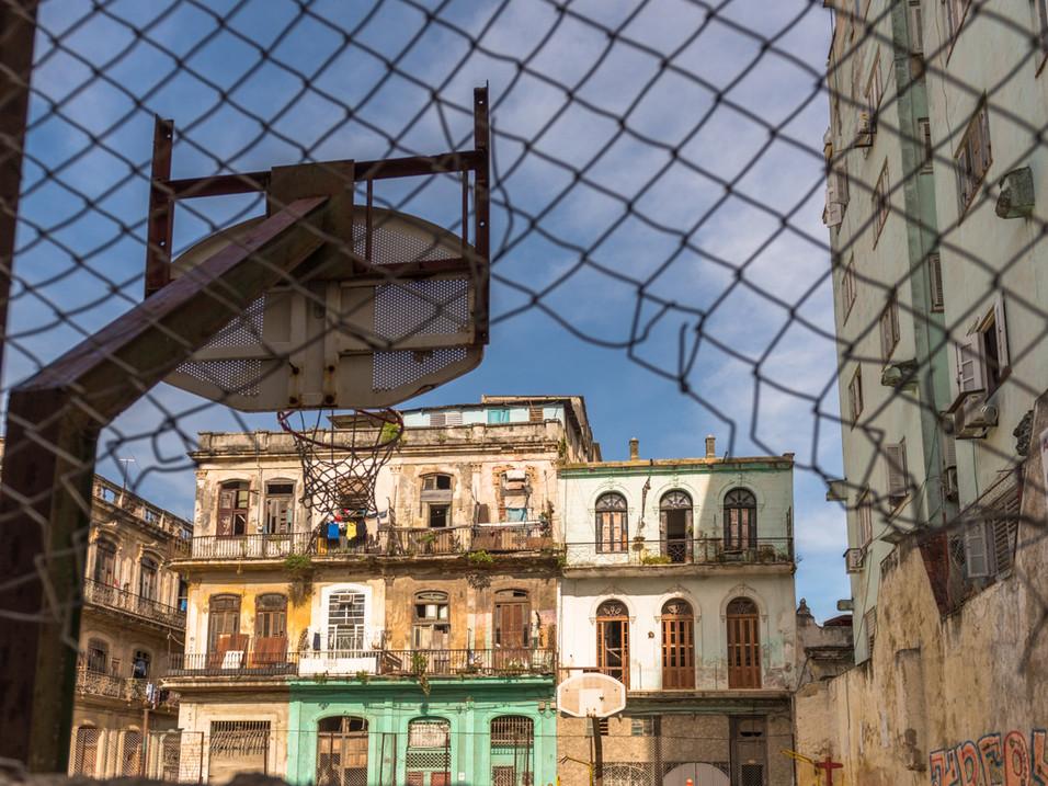Havana basketball court