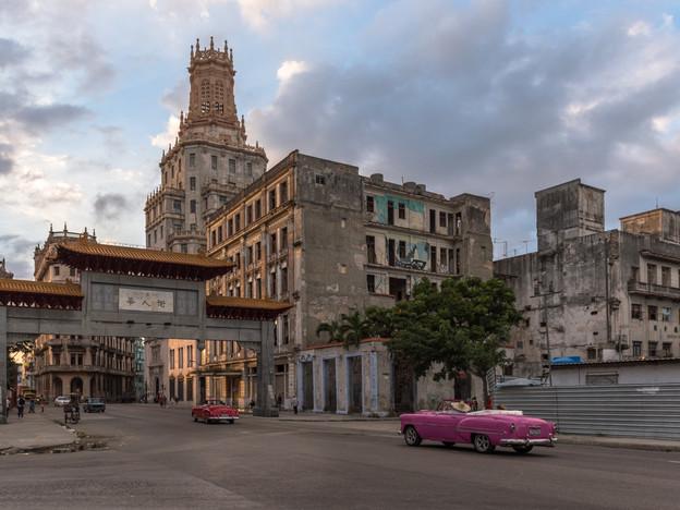 Entering Chinatown, Havana