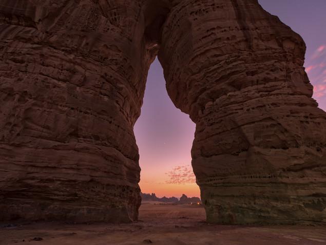 Elephant Rock, Saudi Arabia