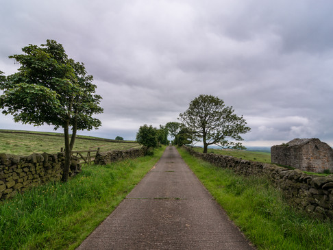 Lancashire country road