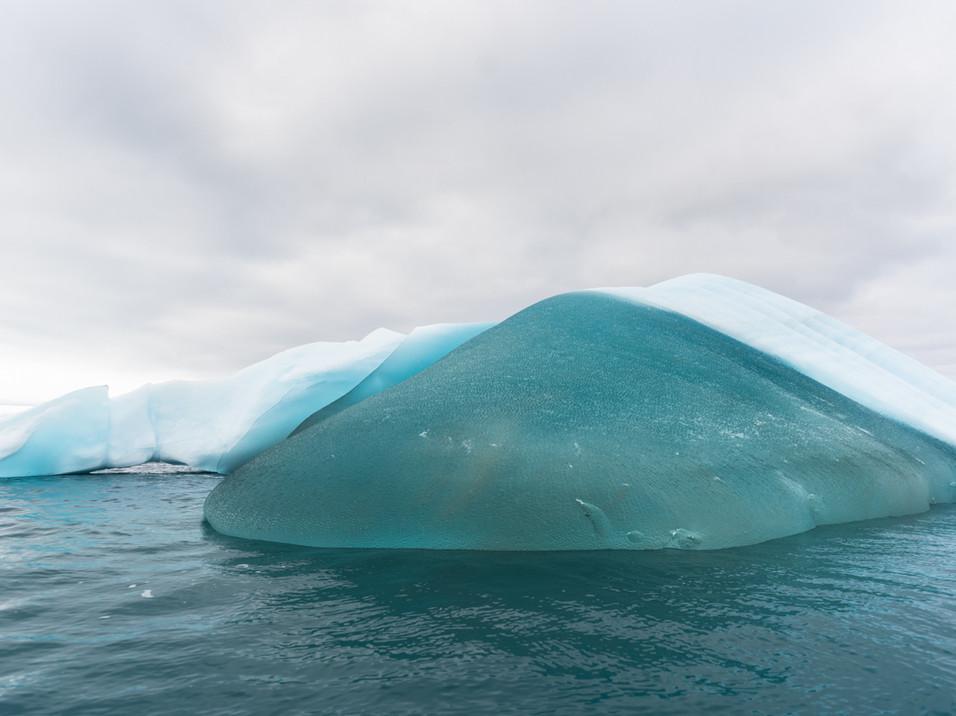 The bluest iceberg, Antarctica