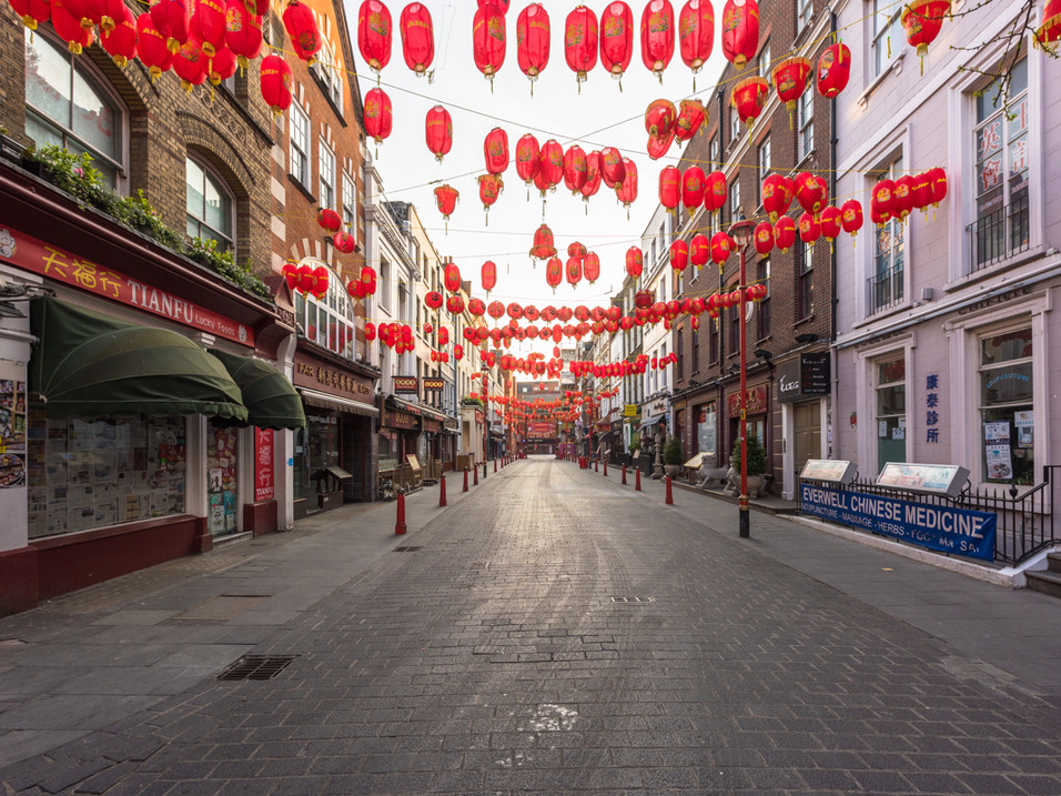 Chinatown in Lockdown