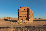 Al Farid - The Lonely Castle - in Hegra,