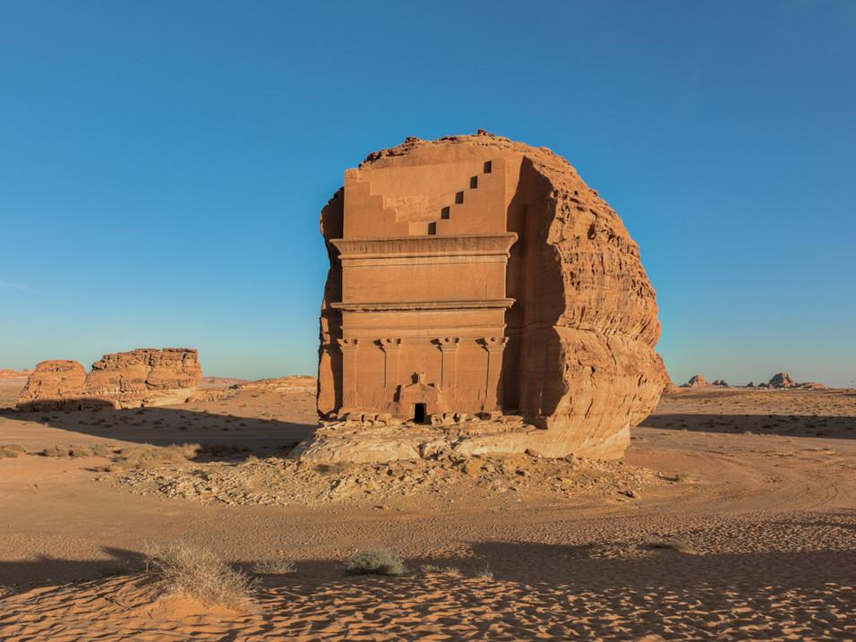 Al Farid - The Lonely Castle - in Hegra