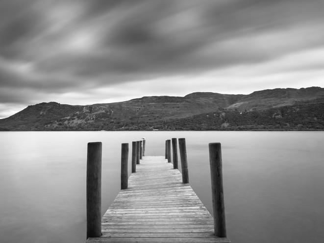 A calm day on Derwent Water, Lake District