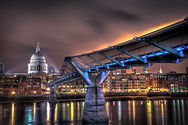 The Bridge to St Paul's Cathedral, Londo