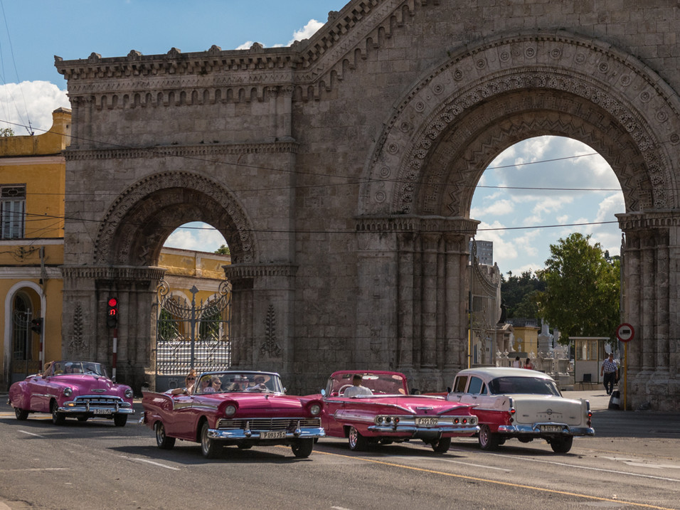 Pink is the colour in Havana
