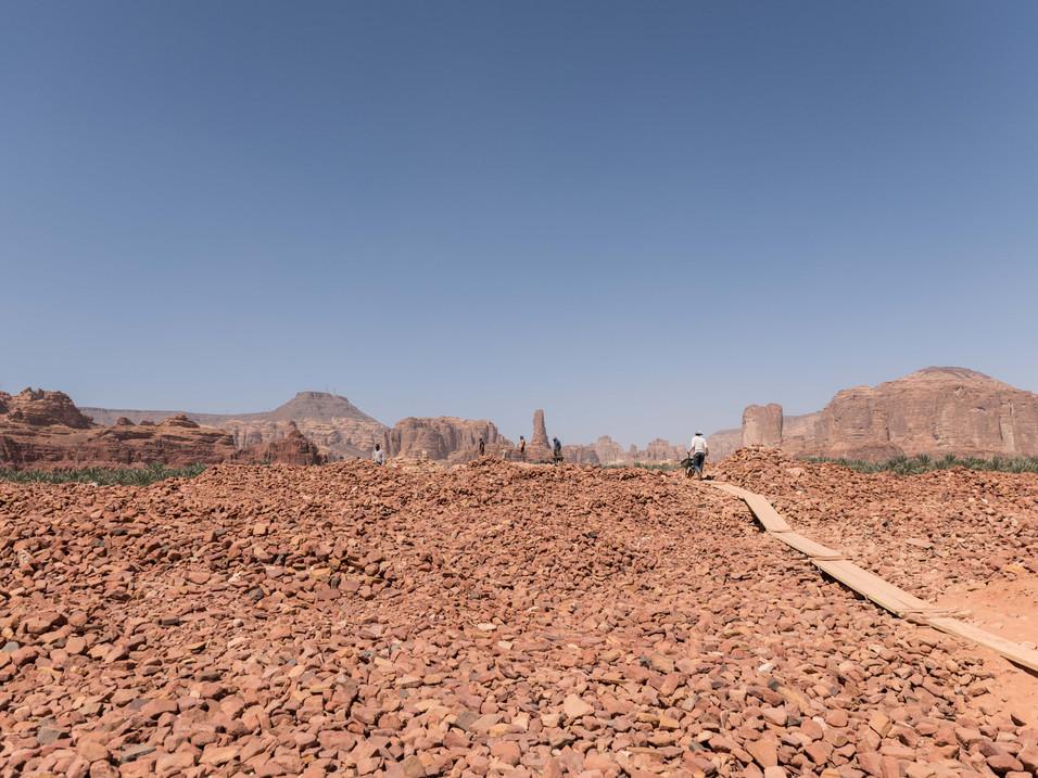 Archaelogical dig at Dadan (600BC)