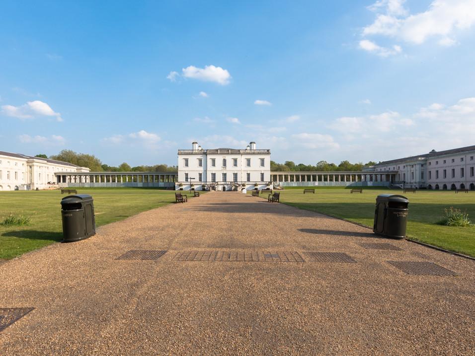 The Queen's House, Greenwich, in Lockdown