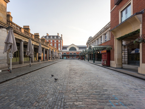Covent Garden in Lockdown