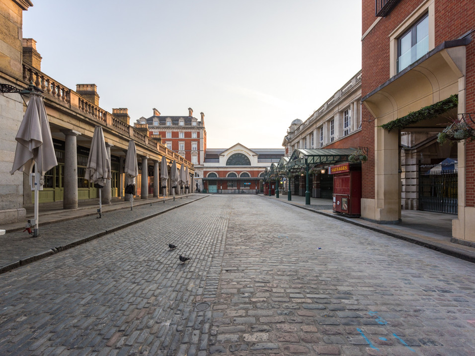 Covent Garden in Lockdown
