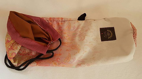 Yogatasche Orient Rosa-Weiss
