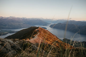 Sunrise at Roys Peak - New Zealand