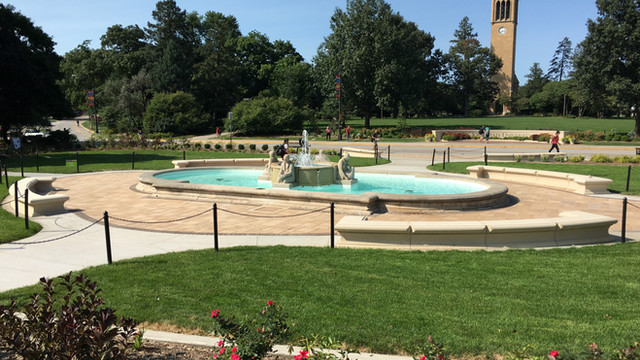 ISU Memorial Union Fountain Renovation