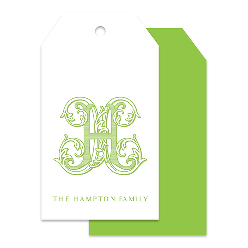 ORNATE LETTER TAGS