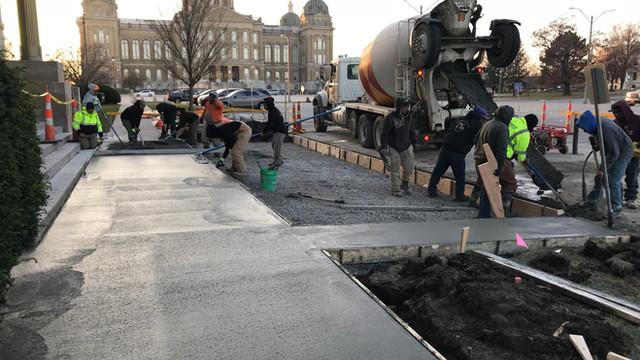 Capitol Complex Sidewalk Repairs