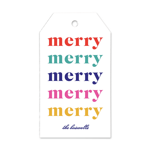 Merry Merry Tags