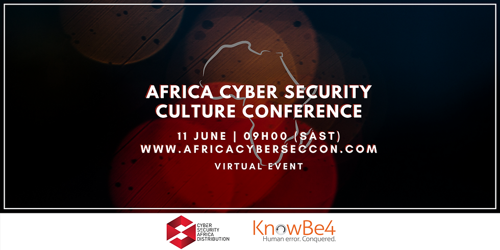 June Africa Cyber Security Culture Conference