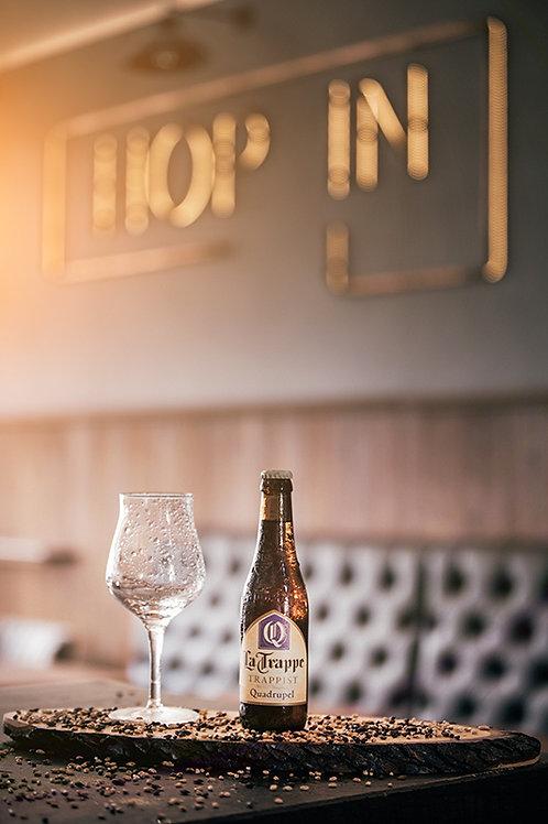 La Trappe Quadrupel - Bierbrouwerij De Koningshoeven