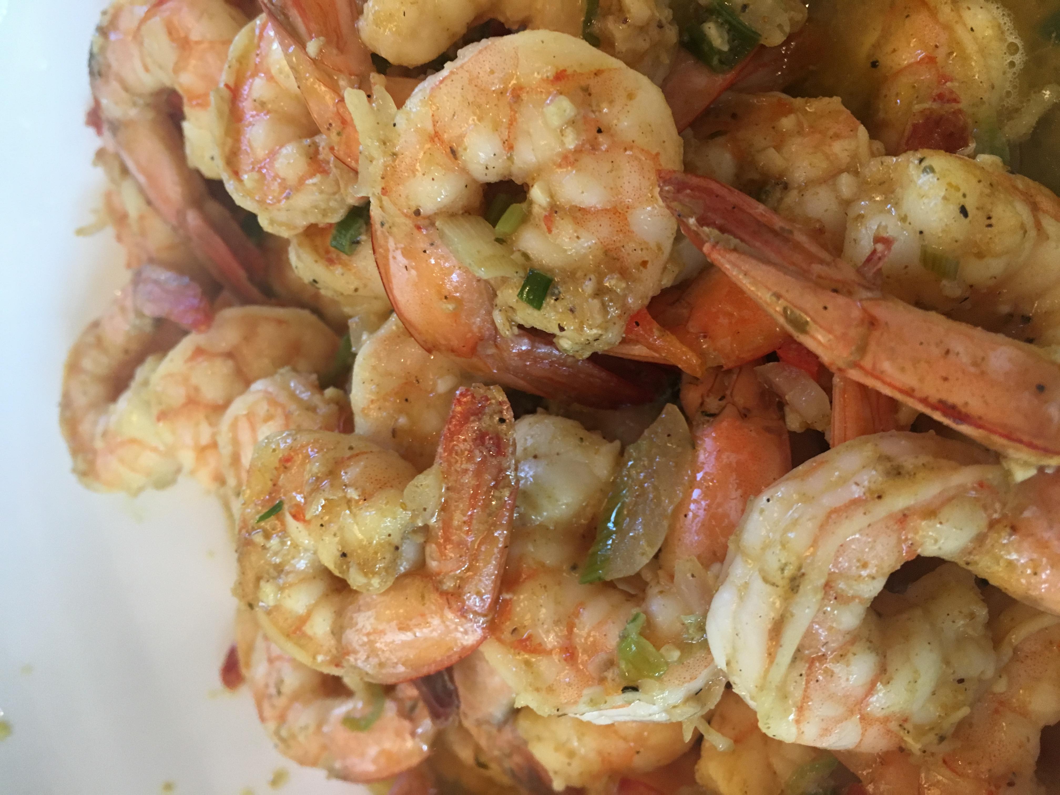 Southern Curry Garlic Chili Shrimp