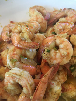 Southern Curry Garlic Chili Shrimp