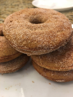 Gluten-Free Apple Cinnamon Donuts
