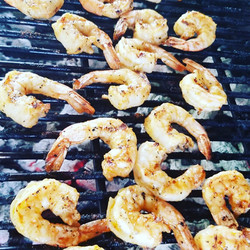 Citrus Garlic Grilled Shrimp