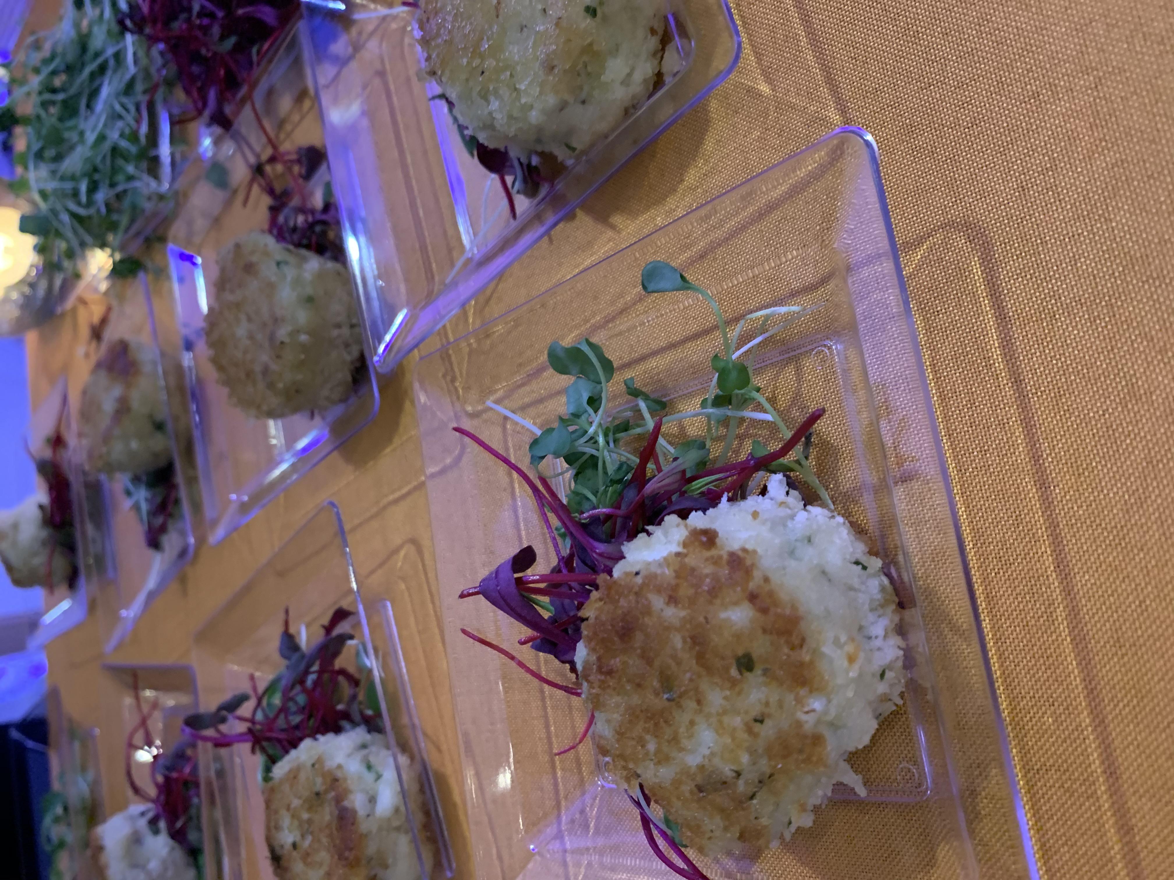 Petite Crab Cakes with Ginger Aioli