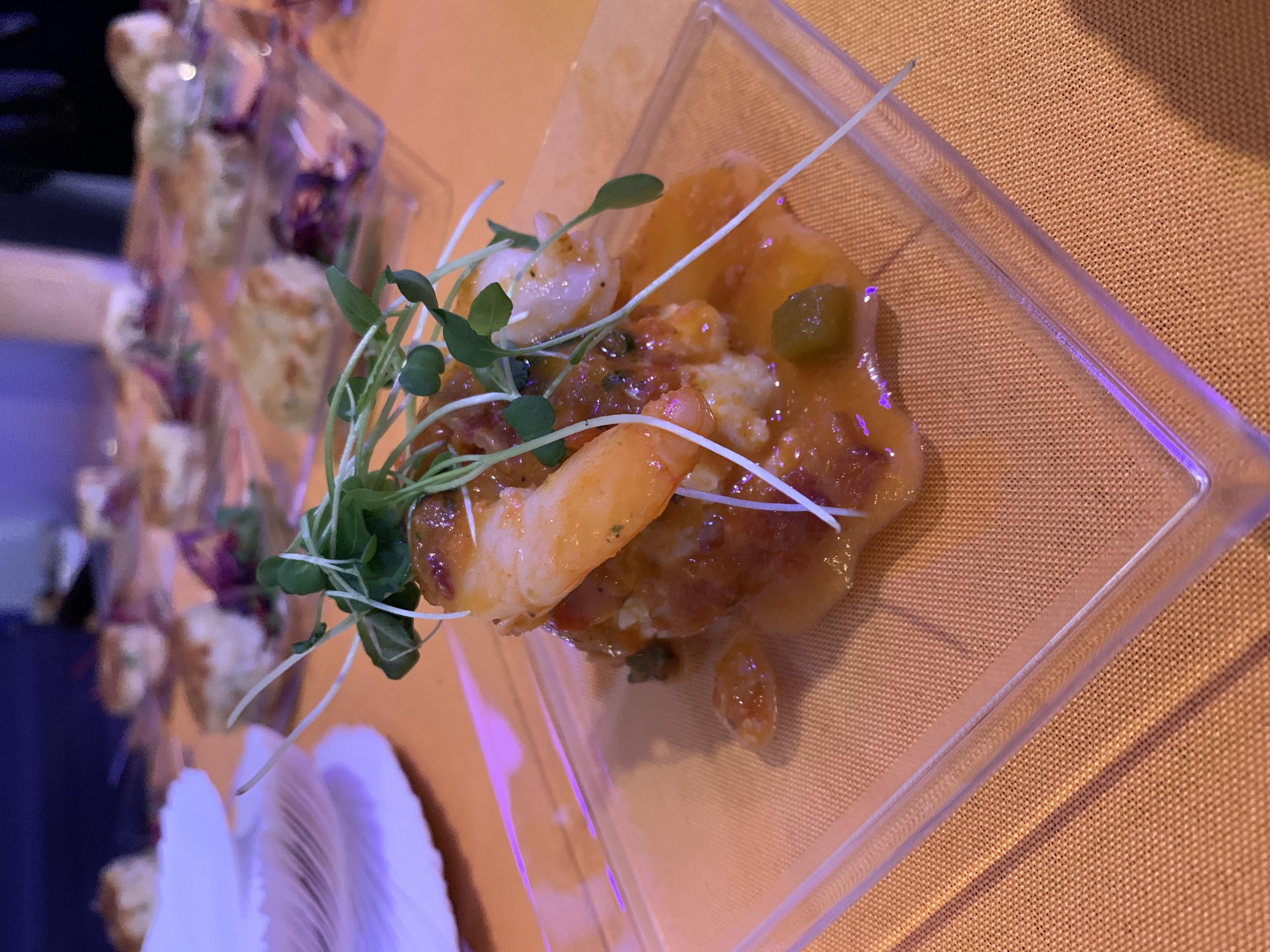 Chili Shrimp &Creamy Gouda Grits