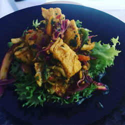 Southern Curry Chicken Lettuce Wrap